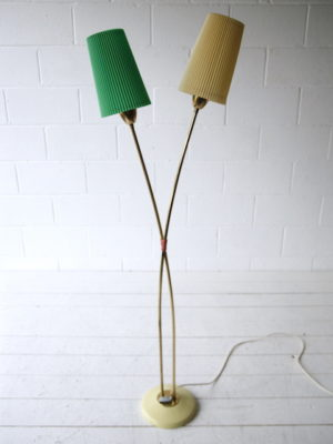 1950s German Double Floor Lamp 3