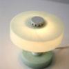 1950s Green Bakelite Table Lamp 1