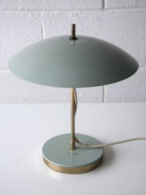 1950s Grey Czechoslovakian Desk Lamp 2