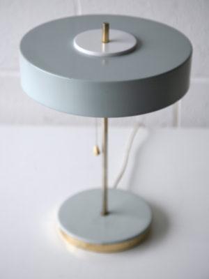 1950s Grey Czechoslovakian Table Lamp 2