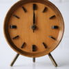 1950s Rosewood Mantle Clock by Kienzle