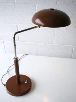 1960s Brown Desk Lamp 2