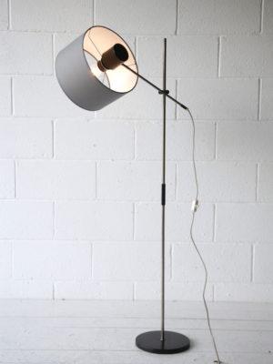 1960s Grey Floor Lamp