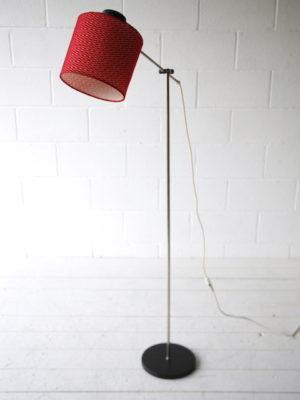1960s Red Floor Lamp 1