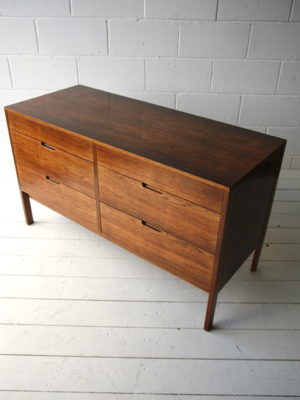1960s Rosewood Chest of Drawers 2