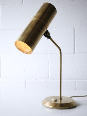 Brass 1960s Desk Lamp 3