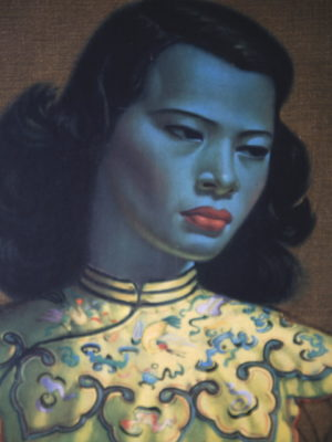 Chinese Girl by Vladimir Tretchikoff 1