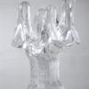 Glass Candle Holder by Goran Warff for Kosta Boda