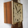 Large 1950s Rosewood Wall Clock 2