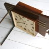 Large 1950s Rosewood Wall Clock 5