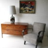 Large 1960s Table Lamp by Cinque Ports Pottery