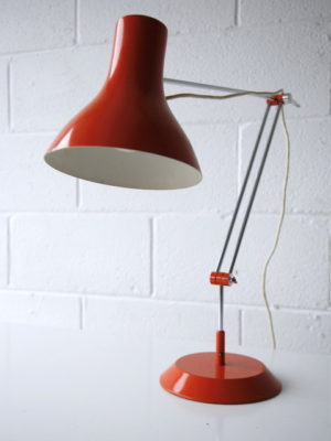 Large 1970s Desk Lamp by Napako 3