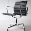 Leather Aluminum Office Chair by Charles Eames 3