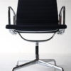 Navy Blue Aluminum Office Chairs by Charles Eames 6
