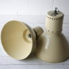 Pair of Large Industrial Ceiling Lights 4