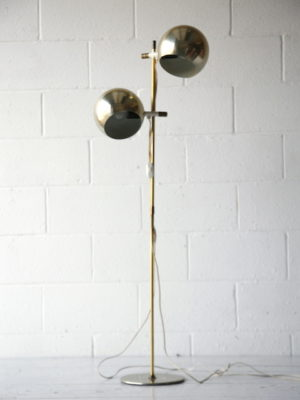 Vintage 1970s Floor Lamp by Hemi Klot Sweden 2