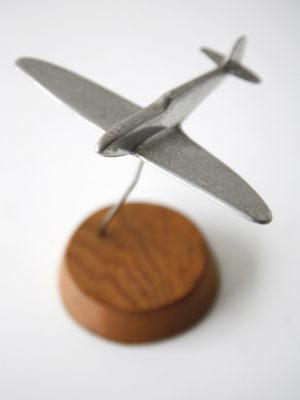 Vintage Aluminium & Oak Spitfire 3