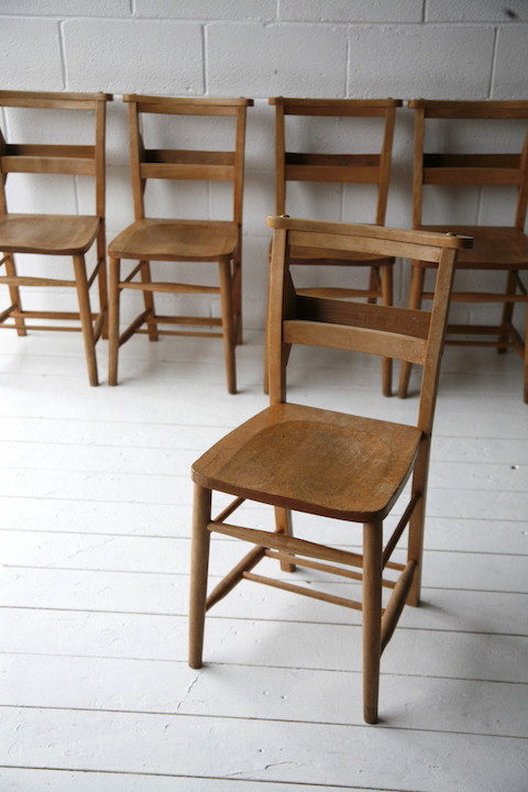 Vintage Chapel Chairs 5