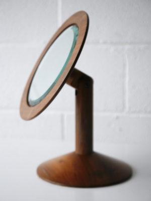 Vintage Wooden Vanity Mirror by John Makepeace 6