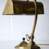 1930s Brass Bankers Lamp 1