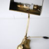 1930s Brass Bankers Lamp 4