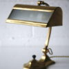 1930s Brass Bankers Lamp 5