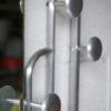 1950s Aluminium Coat Stand A 1