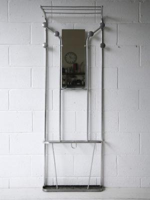 1950s Aluminium Coat Stand B 4