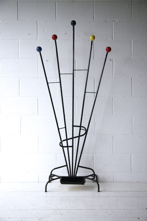1950s Atomic Coat Stand