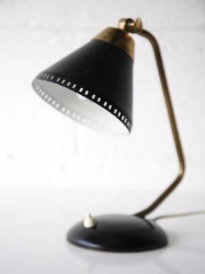 1950s Black Desk Lamp