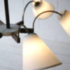 1950s French 6 Arm Ceiling Light 3