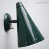 1950s Green Wall Light 1
