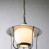 1950s Grey Lantern Ceiling Light 1