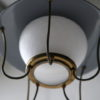 1950s Grey Lantern Ceiling Light 3
