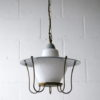 1950s Grey Lantern Ceiling Light 5