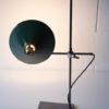 1950s Laboratory Lamp with Green Enamel Shade 1