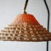 1950s Teak Wicker Floor Lamp 2