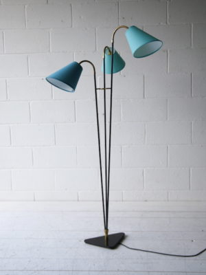 1950s Triple Floor Lamp 2