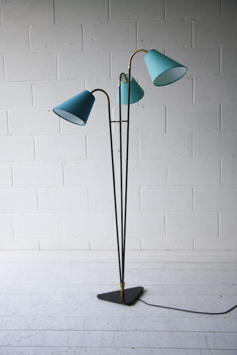 1950s Triple Floor Lamp 2