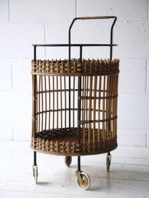 1950s Wicker Trolley 3