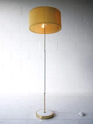 1950s Yellow Floor Lamp 3