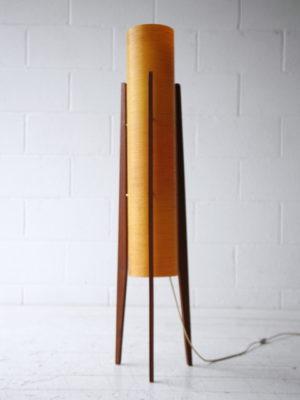 1960s Fibreglass Rocket Lamp