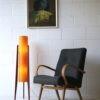1960s Fibreglass Rocket Lamp 4