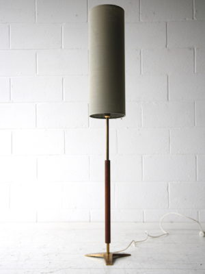 1960s Teak Brass Floor Lamp 2