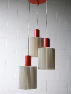 1960s Triple Pendant Light 3