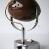 1970s Brown Eyeball Desk Lamp 1