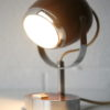 1970s Brown Eyeball Desk Lamp