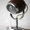 1970s Brown Eyeball Desk Lamp 3