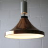 1970s Copper Ceiling Light 1