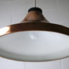 1970s Copper Ceiling Light 4